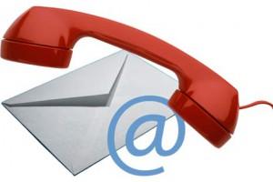Telefon-Mail-Symbol